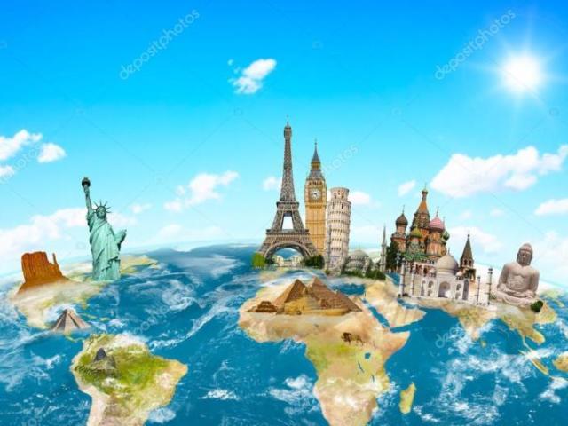 Você conhece os monumentos famosos do mundo?