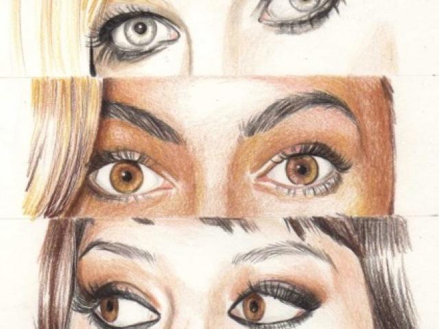 Qual é a celebridade pelo olhar?