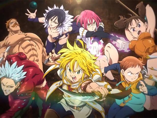 Qual personagem você seria em Nanatsu No Taizai?