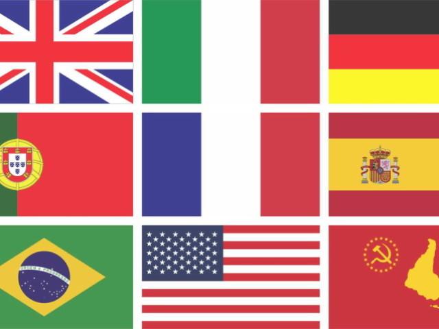 Você conhece as bandeiras de cada país? (Atualizado)
