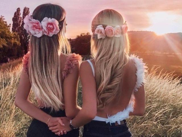 Monte sua sessão de fotos com a sua melhor amiga