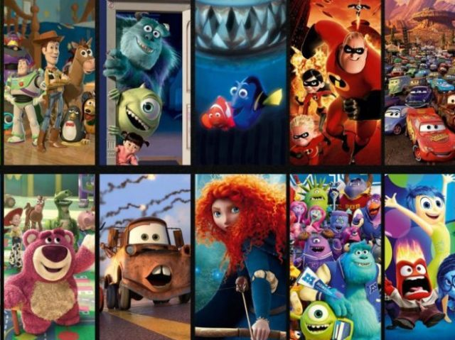 De qual filme da Disney/Pixar você seria?