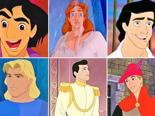Que príncipe da Disney te representa?