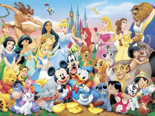 Animações da Disney
