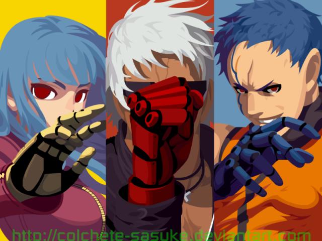 Que personagem você seria de The King Of Fighters?