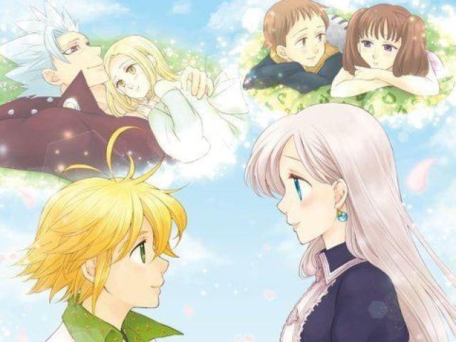 Qual casal de Nanatsu no Taizai te representa?