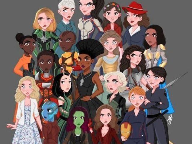 Com qual 'MarvelQueen' você mais se identifica?