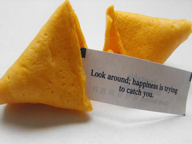 O que o biscoito da sorte revela sobre você?