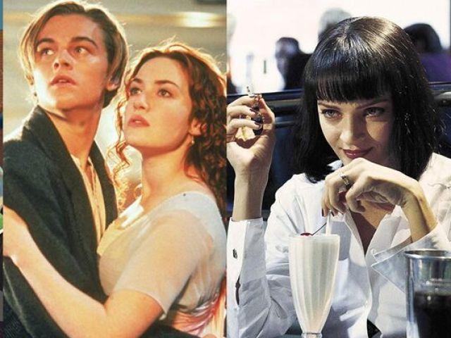 Você lembra o nome dos filmes dos anos 90?