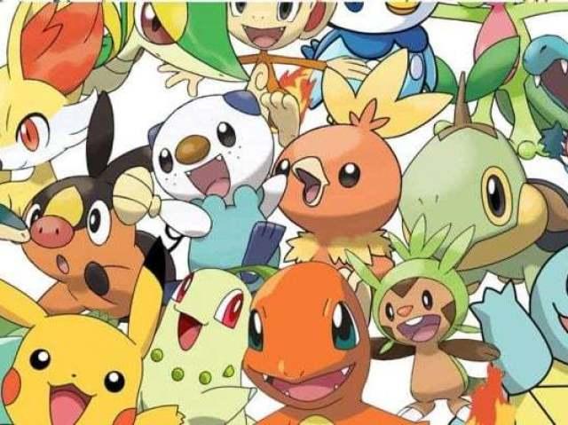 Você conhece os inicias do Pokémon?