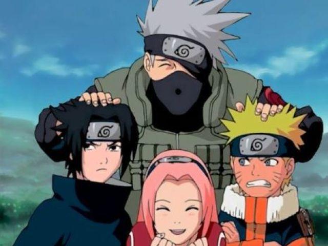 Qual ninja do time 7 você seria?