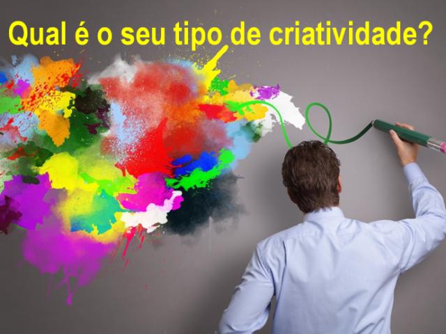 Qual é o seu tipo de Criatividade?