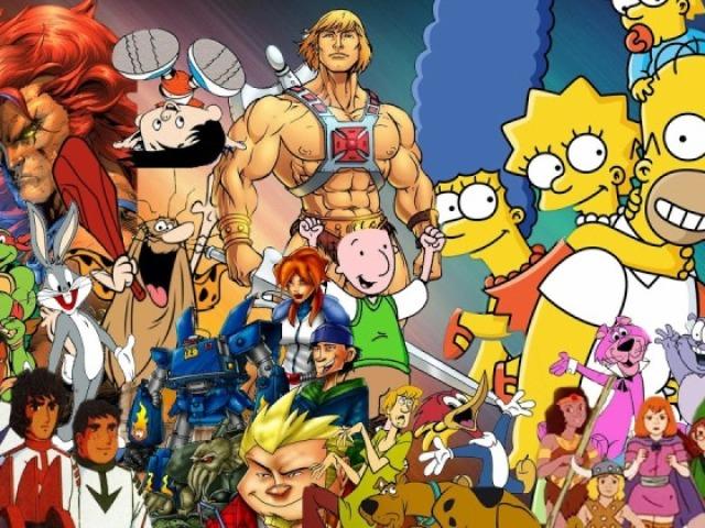 Você Conhece esses Personagens de Desenhos Animados?