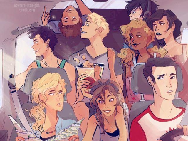 Quem você é em Percy Jackson?