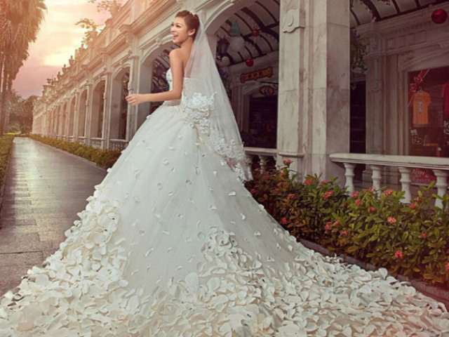 Qual será seu vestido de casamento?