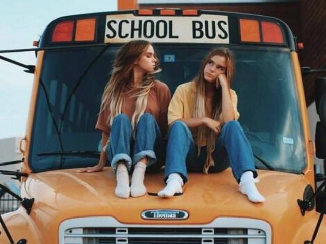 Monte seu primeiro dia de aula no high School