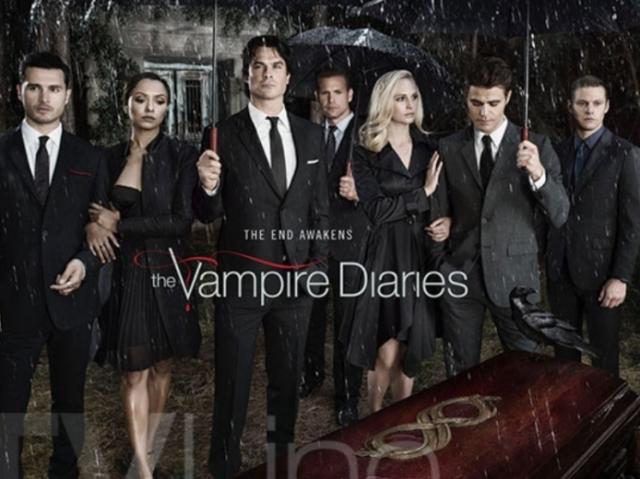 Será que você é fã de The vampire Diaries?