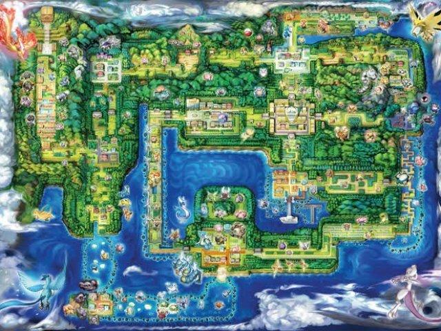 Pokémon: Você conhece a região de Kanto?
