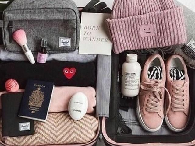 Monte sua mala e descubra para onde você irá viajar!