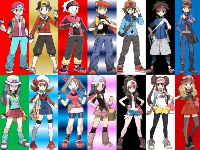 Qual Protagonistas dos jogos de Pokémon você seria?