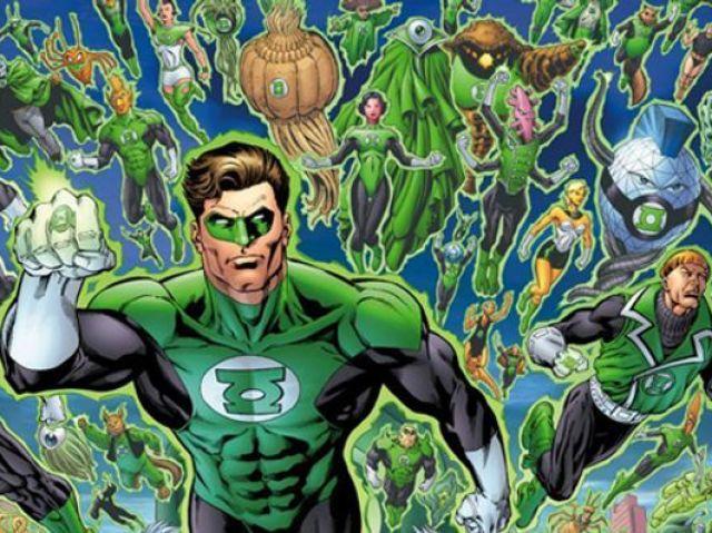Você conhece os lanternas verdes?