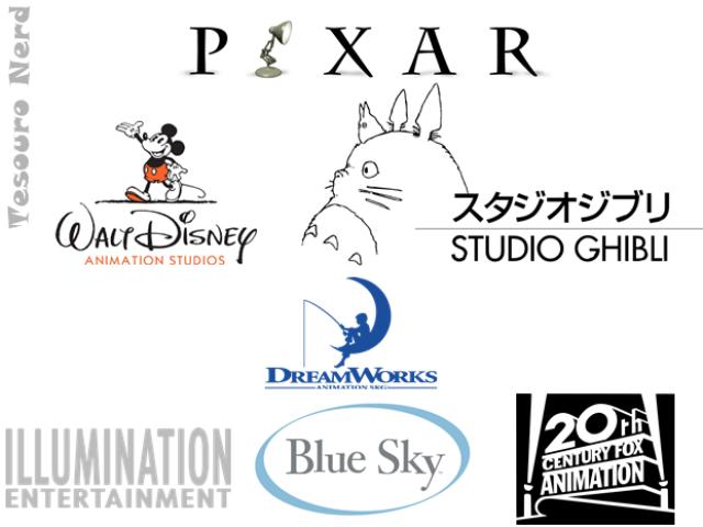 Você sabe a qual estúdio essa animação pertence?