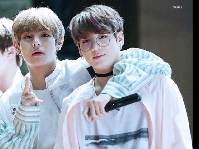 Taehyung ou Jungkook: Com quem você mais combina?