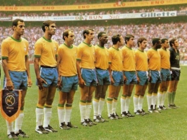 Conhece a seleção brasileira em copas do mundo?