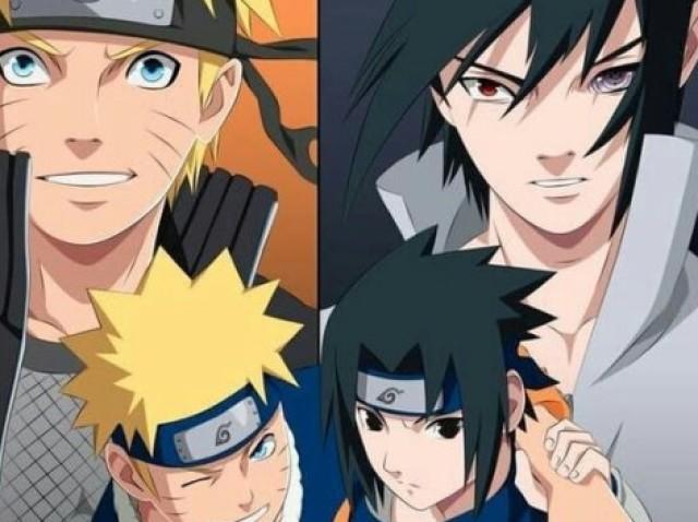 Você sabe tudo sobre a amizade de Naruto e Sasuke?