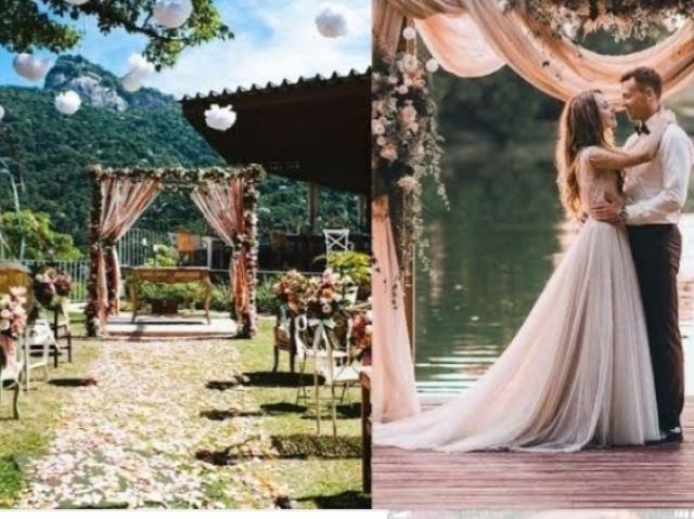 Escolha como será sua cerimônia de casamento!