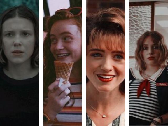 Com qual das garotas de ST você mais se identifica? (S3)