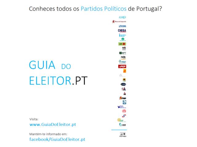 Conheces todos os Partidos Políticos de Portugal?
