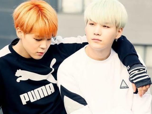 Com quem você mais combina: Yoongi ou Jimin?