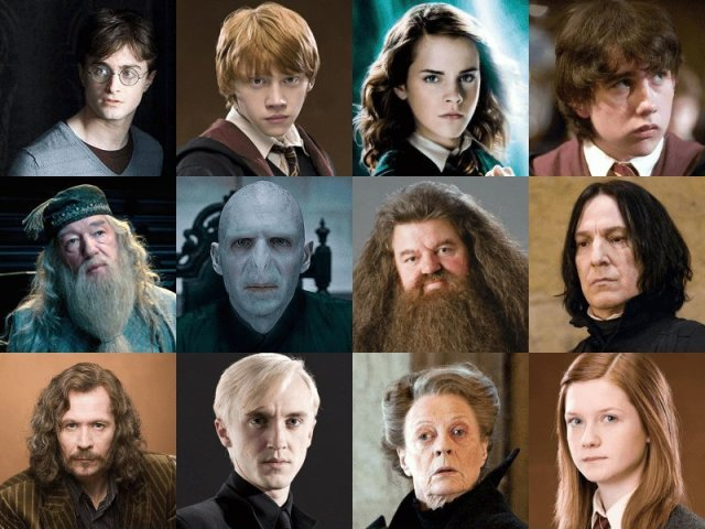 Quiz de personagens de Harry Potter!