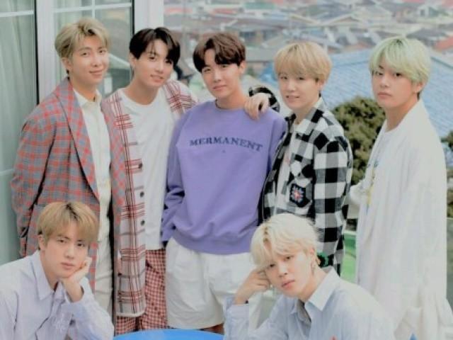 ☆_ Quem do BTS teria um filho com você? _☆