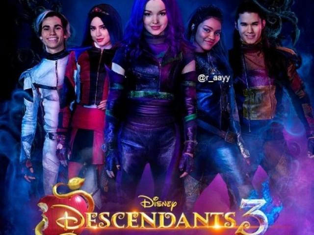 Você realmente prestou atenção em Descendentes 3?