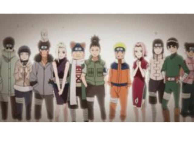 Qual sua equipe no Naruto clássico