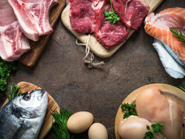 És mais carne ou peixe?