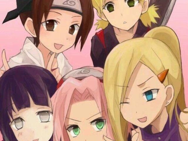 Que menina de Naruto você seria?