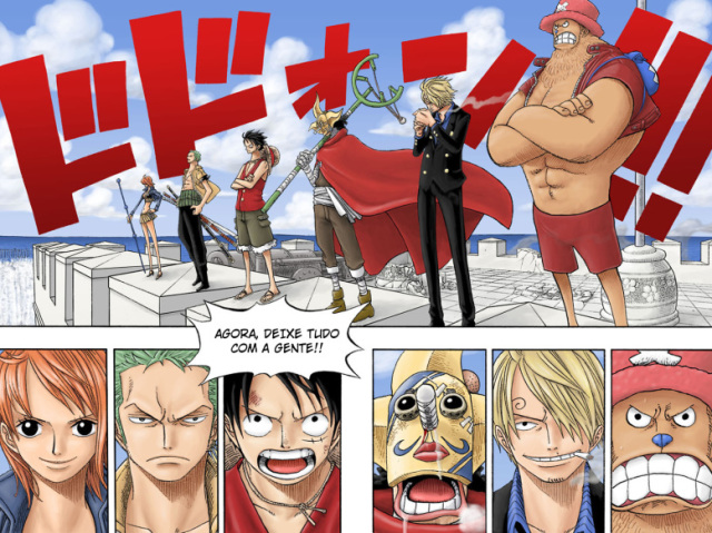 Quiz difícil sobre One Piece
