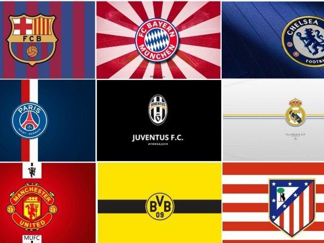O quanto você sabe sobre os escudos dos times de futebol europeu?