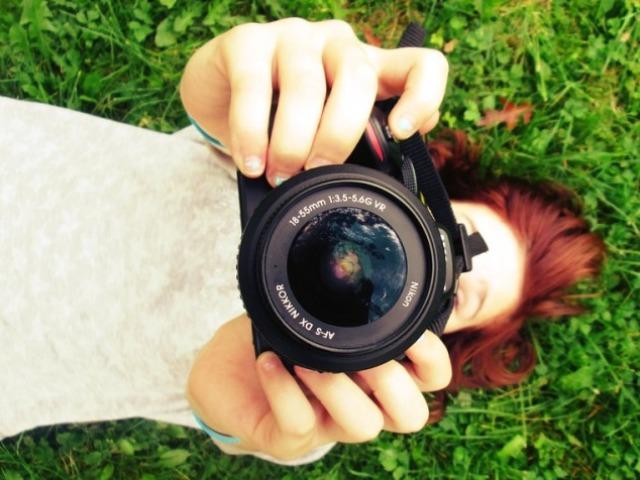 Crie a sua sessão de fotos!