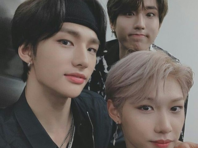 Entre Jisung, Felix e Hyunjin, quem seria seu namorado?