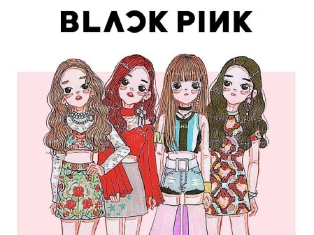 Quem você seria em BlackPink?