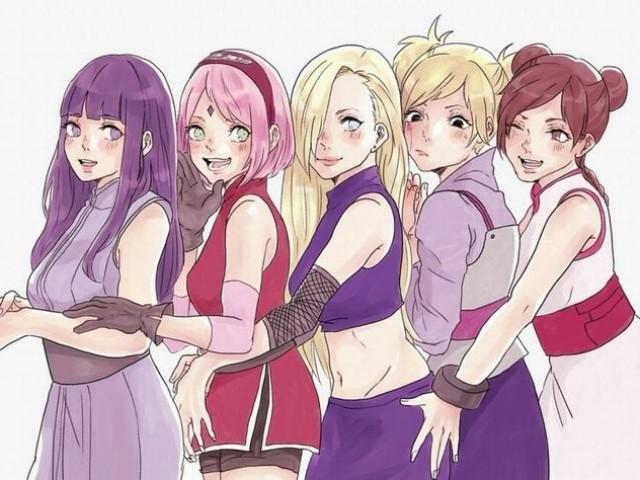 Qual das Kunoichis de Naruto você seria?