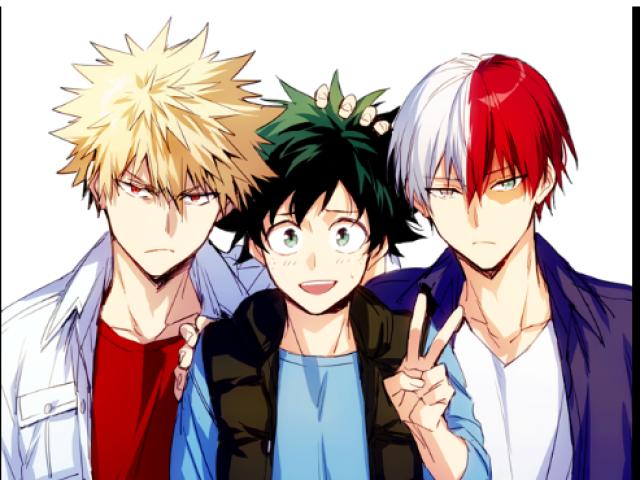 Qual personagem de Boku No Hero você namoraria?