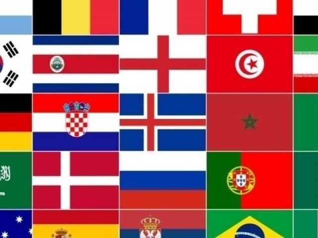 Você conhece todas as bandeiras do mundo?