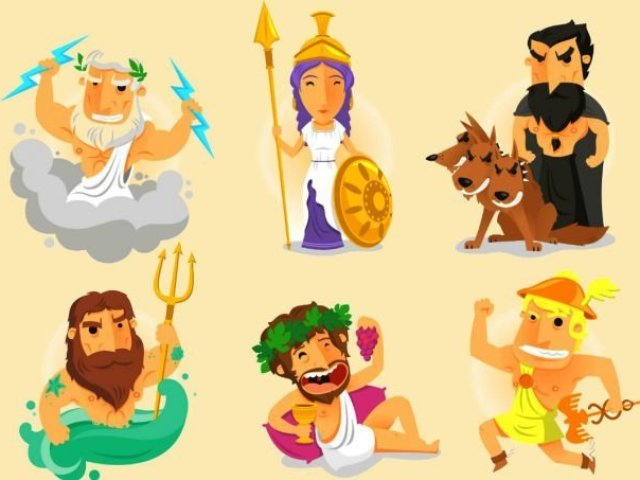 Deuses Gregos: Verdadeiro ou falso?
