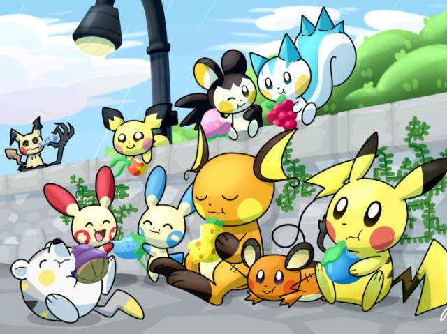 Qual dos clones do Pikachu você mais se parece?