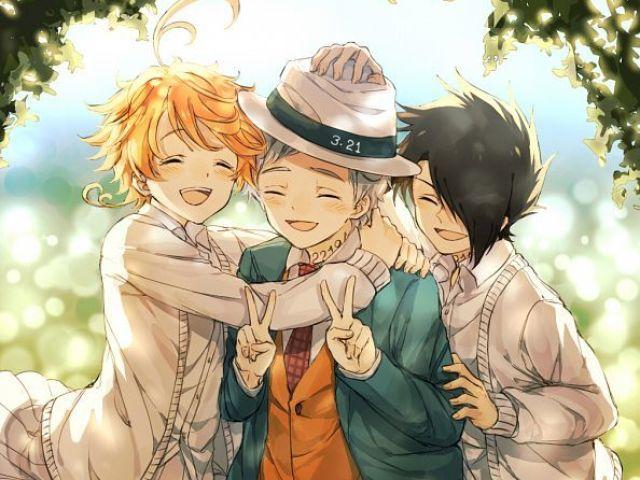 👹Você conhece Yakusoku no Neverland?👹